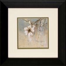 Cherry Blossom I / II 2 Piece Framed Graphic Art Set