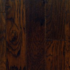 "5"" Engineered American Hickory Hardwood Flooring in Patina"
