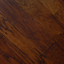"5"" Engineered American Hickory Hardwood Flooring in Kettle"