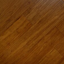 """3-3/4"""" Solid Bamboo Hardwood Flooring in Ginger"""