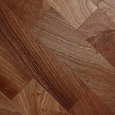 "Exotic Smooth 3-1/2"" Engineered Mahogany Hardwood Flooring in Sapelli Mahogany"