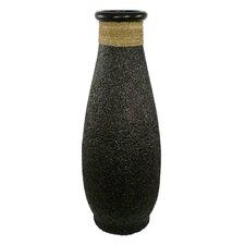 Ubud Rice Husk Round Floor Vase