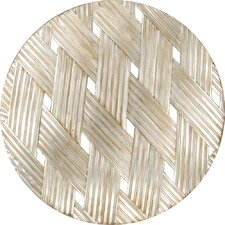 Woven Aged Round Wall Decor