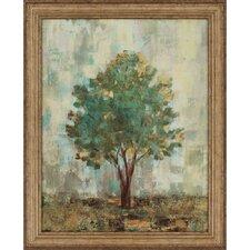 Verdi Trees II by Vassileva Framed Painting Print