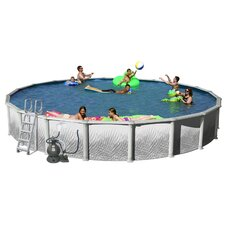 "Round 52"" Deep Complete Hamilton Above Ground Pool Package"