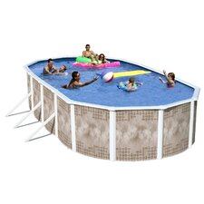 Yosemite Oval Deep Complete Above Ground Pool Package