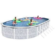 Taos Oval Deep Complete Above Ground Pool Package
