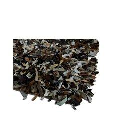 Thalassa Premium Leather Earth/White Rug