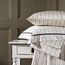Bloomsbury Cotton Stripe Fitted Sheet