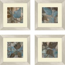 Botanical Perfect Match Framed Painting Print (Set of 4)