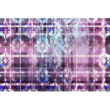 Hidden Hues with Glass Coat Graphic Art on Wrapped Canvas
