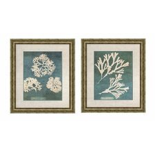 Barrier 2 Piece Framed Graphic Art Set