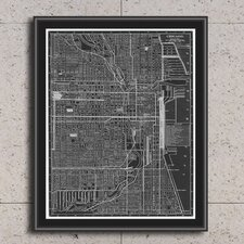 Chicago Giclée Framed Photographic Print