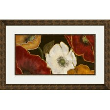 Beautiful Poppies I Painting Print