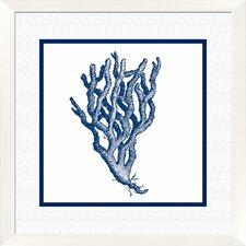 Coral Giclée Framed Graphic Art