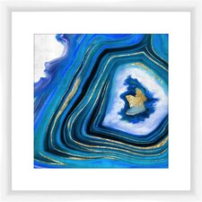 Geoid I Giclee Framed Graphic Art Print