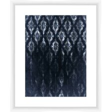 Negative Fade Pattern Giclee Print Framed Graphic Art