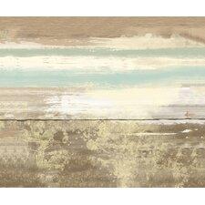 Black Line Painting Print on Canvas