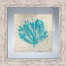 Coastal Tiffany Coral I Framed Graphic Art