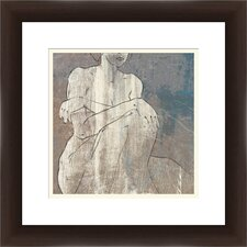 Feminine Elegance Framed Painting Print