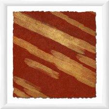 Crimson Movement I Framed Graphic Art