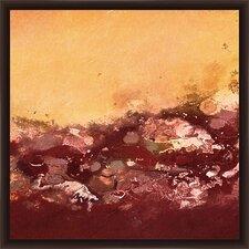 Crimson Sea I Framed Graphic Art