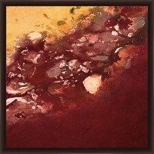 Crimson Sea II Framed Graphic Art
