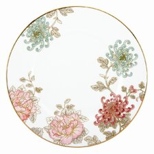 "Painted Camellia 10.75"" Dinner Plate"