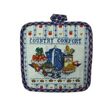 Printed Country Comfort Pot Holder (Set of 2)