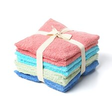 Luxury Hotel/Spa Assorted Wash Cloth (Set of 8)