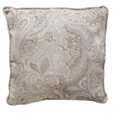 Jacquard Paisley Throw Pillow