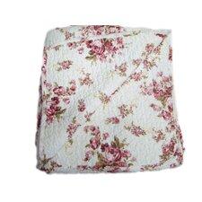 Quilted Vintage Rosie Reversible Throw Blanket