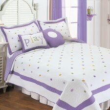 Polka Dot Quilt Set