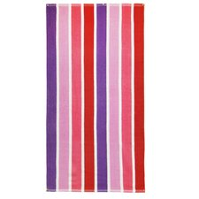 Luxury Striped Terry Beach Towel