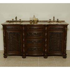 "Canterbury 67"" Double Bathroom Vanity Set"