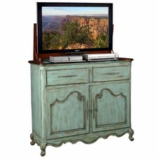 Belle Weathered TV Stand