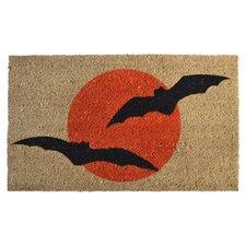 Molded Bats Doormat