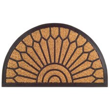 Molded Lily Doormat