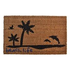 Molded Beach Life Doormat