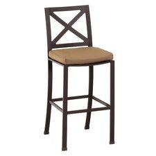 "La Jolla 26"" Bar Stool with Cushion"