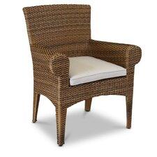 Santa Cruz Dining Chair with Self Welt Cushion