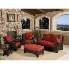 Santa Barbara 4 Piece Deep Seating Group with cushions