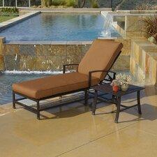 La Jolla Chaise Lounge with Cushion