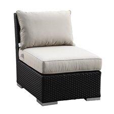 Solana Armless Club with Cushions