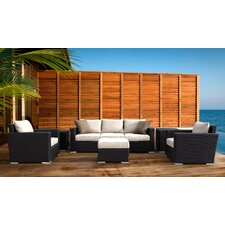 Solana 4 Piece Deep Seating Group with Cushions