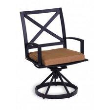 La Jolla Swivel Dining Arm Chair with Cushion