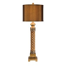 "40"" H Table Lamp with Drum Shade"