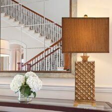 "33.5"" H Table Lamp with Rectangular Shade"