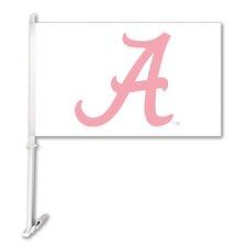 NCAA Car Flag with Wall Bracket (Set of 2)