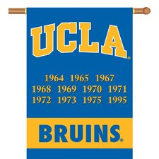 UCLA Bruins Champ Years 2-Sided Banner with Pole Sleeve